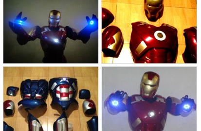 Build Your Own Iron Man Armor!